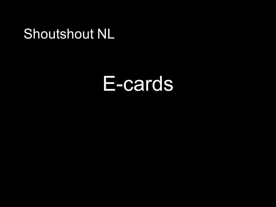 Shoutshout NL E-cards