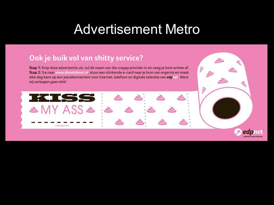 Advertisement Metro