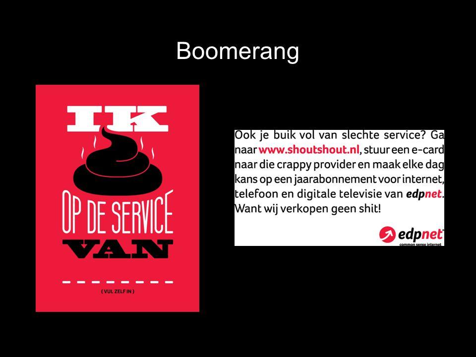 Boomerang Verso Recto