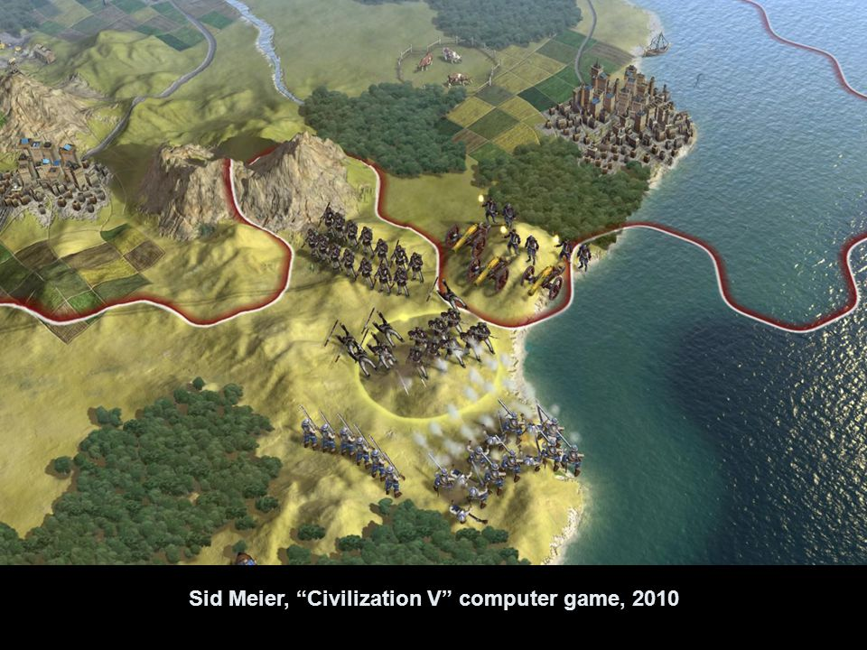 Sid Meier, Civilization V computer game, 2010