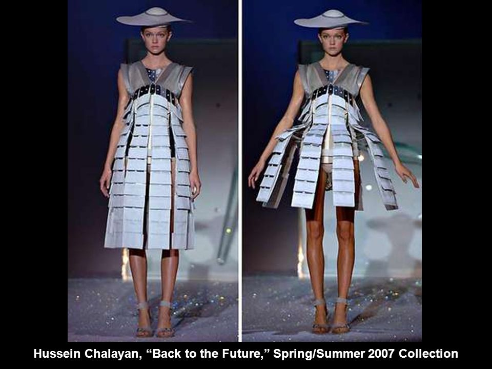 "Hussein Chalayan, ""Back to the Future,"" Spring/Summer 2007 Collection"