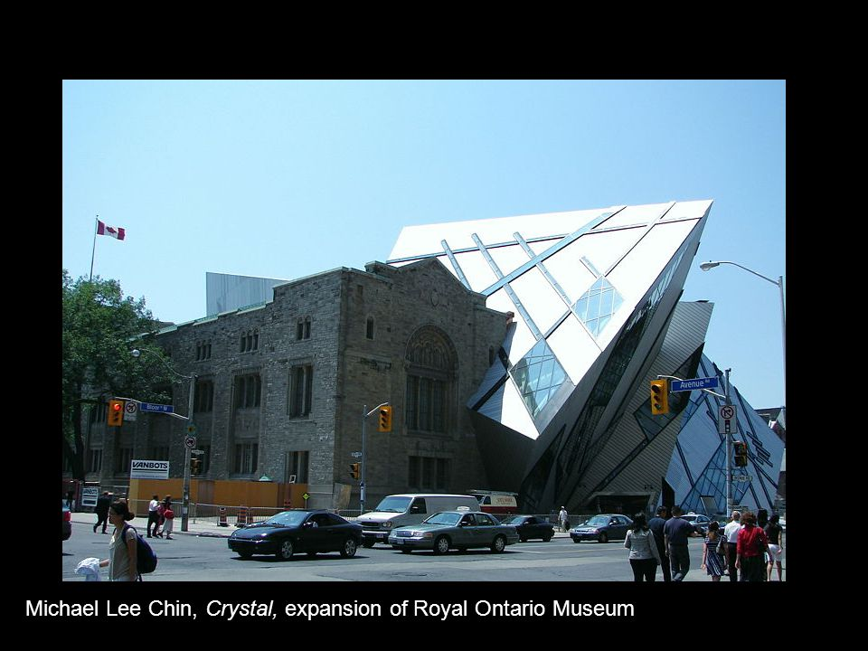 Michael Lee Chin, Crystal, expansion of Royal Ontario Museum