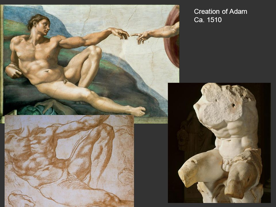 Creation of Adam Ca. 1510