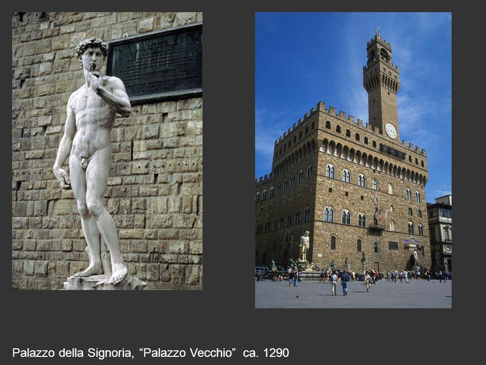 """Palazzo della Signoria, """"Palazzo Vecchio"""" ca. 1290"""