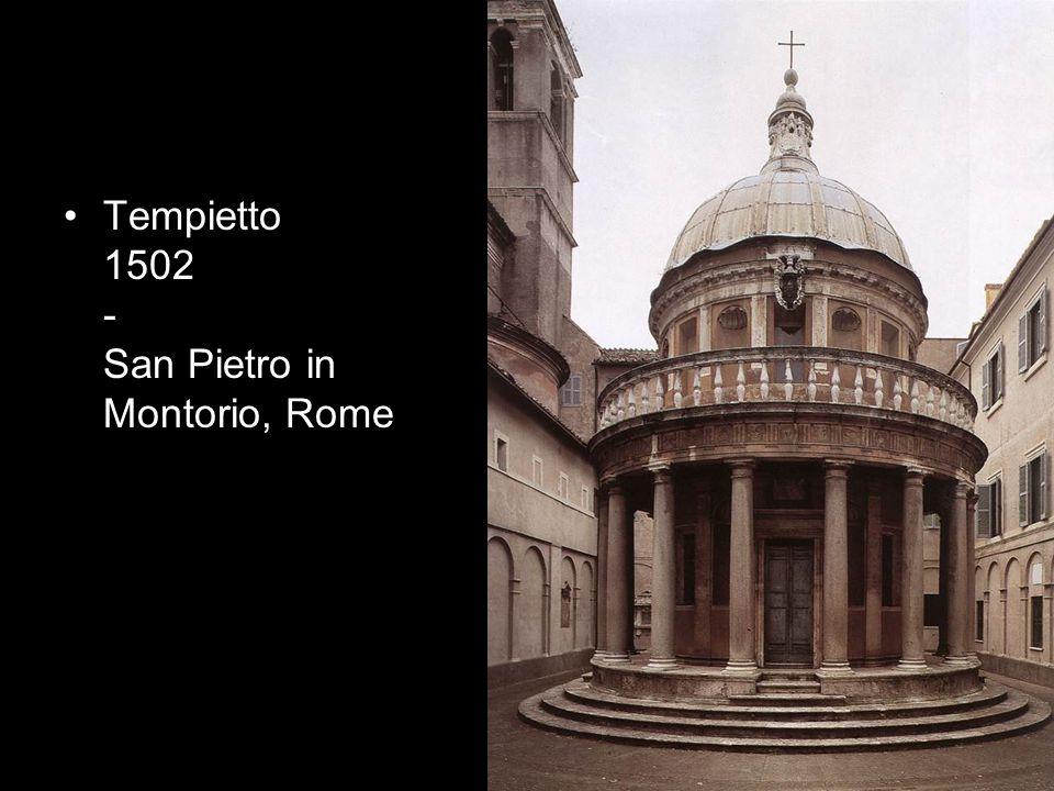 Tempietto 1502 - San Pietro in Montorio, Rome