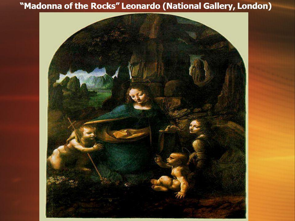 The Virgin of the Rocks Leonardo (Louvre, Paris)