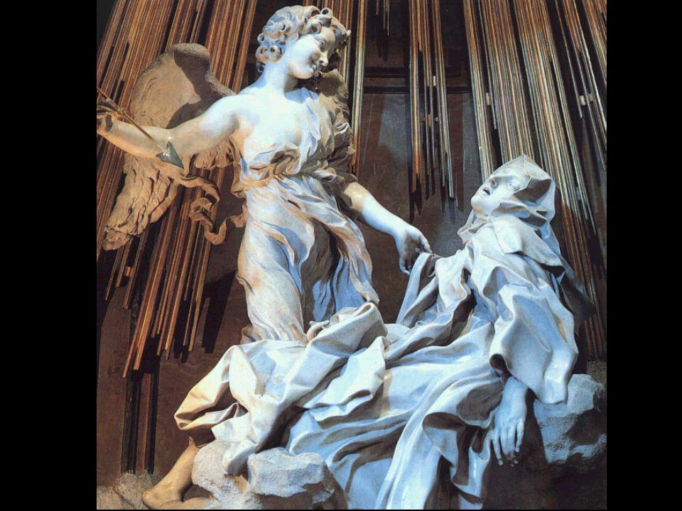 Baroque Gianlorenzo Bernini (1598-1680) Šv.Teresa iš Avilos 1645-53 Marble