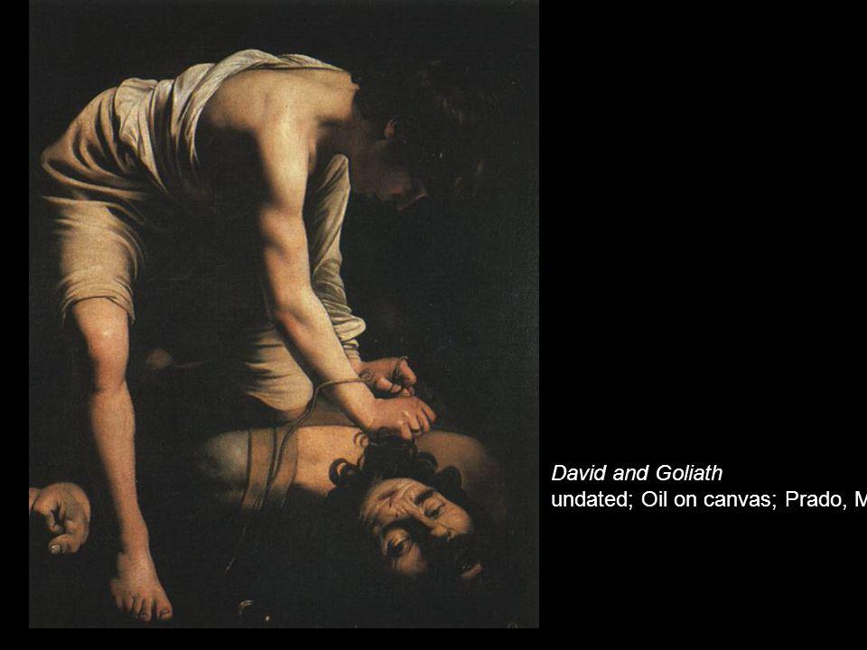 David and Goliath undated; Oil on canvas; Prado, Madrid
