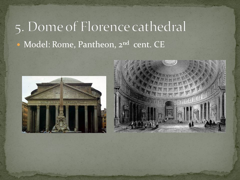 Model: Rome, Pantheon, 2 nd cent. CE