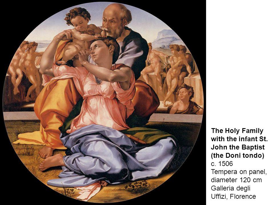 Michelangelo (full name: Michelangelo di Lodovico Buonarroti Simoni) was born in Caprese, a village in Florentine, on March 6th, 1475.