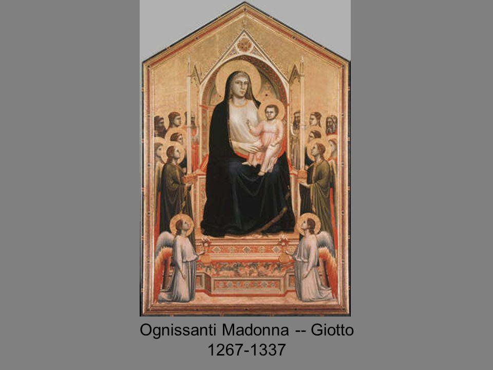 Ognissanti Madonna -- Giotto 1267-1337