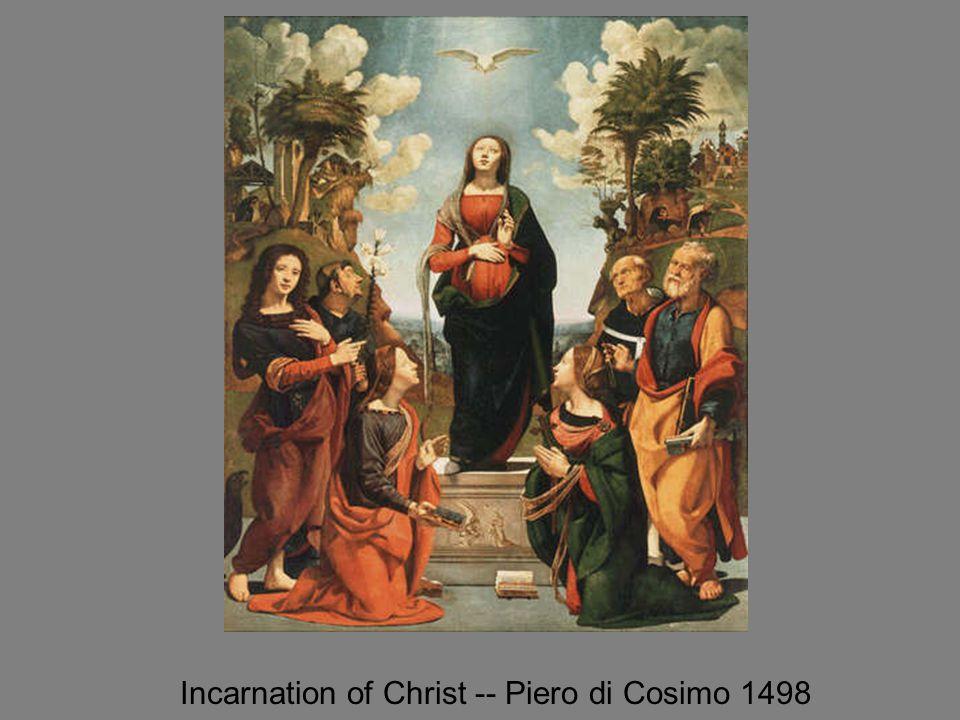 Incarnation of Christ -- Piero di Cosimo 1498