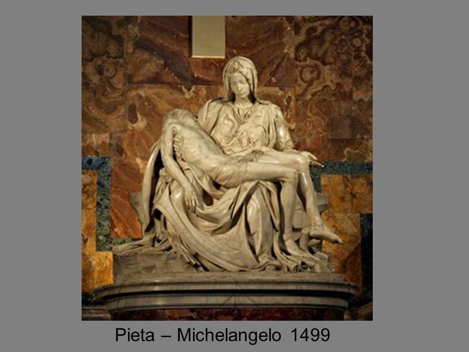 Pieta – Michelangelo 1499
