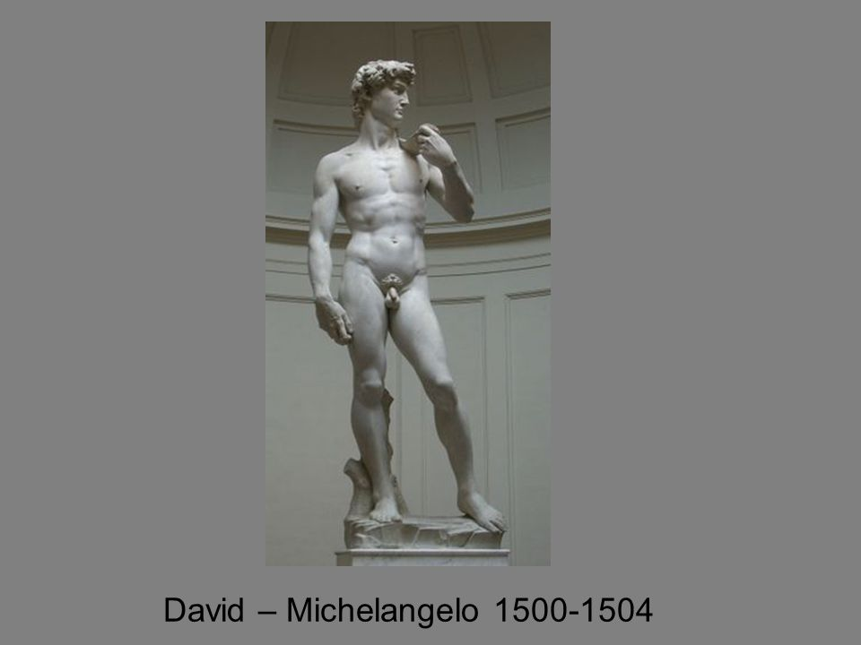 David – Michelangelo 1500-1504