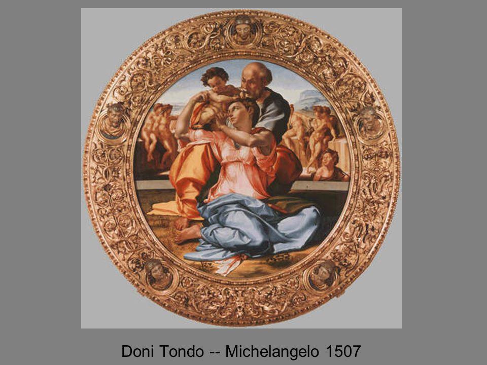 Doni Tondo -- Michelangelo 1507