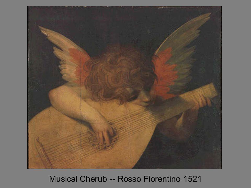 Musical Cherub -- Rosso Fiorentino 1521