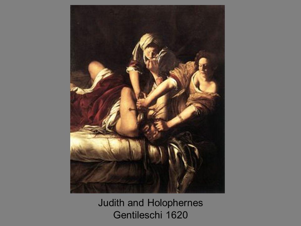 Judith and Holophernes Gentileschi 1620
