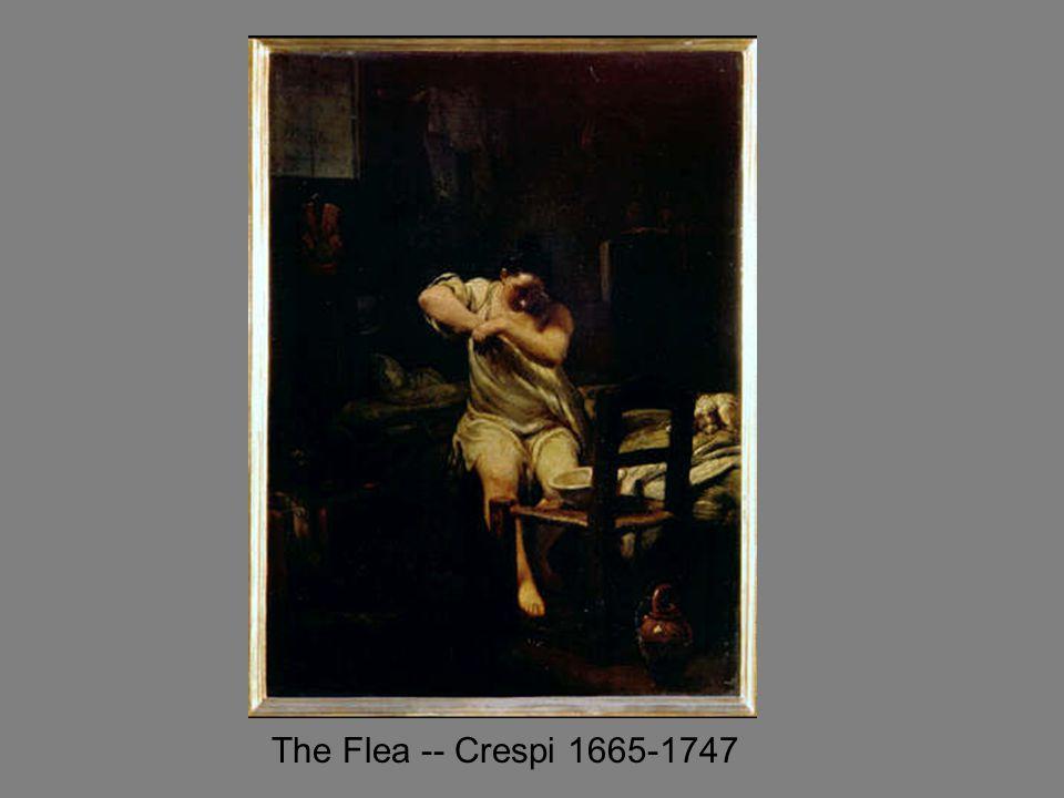 The Flea -- Crespi 1665-1747