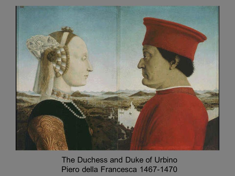 The Duchess and Duke of Urbino Piero della Francesca 1467-1470