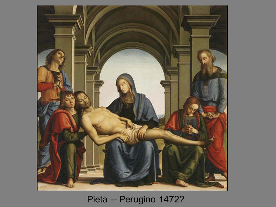 Pieta -- Perugino 1472