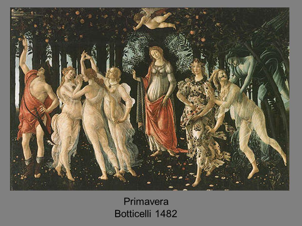 Primavera Botticelli 1482