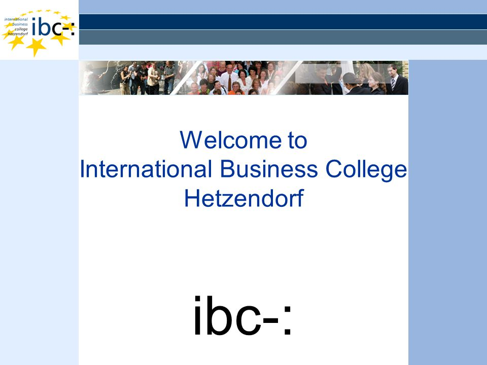 Welcome to International Business College Hetzendorf ibc-: