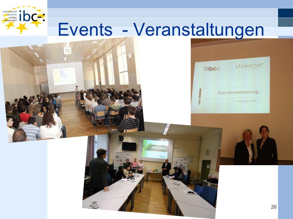 Events - Veranstaltungen 26