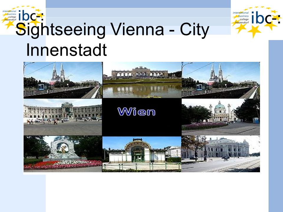 Sightseeing Vienna - City Innenstadt