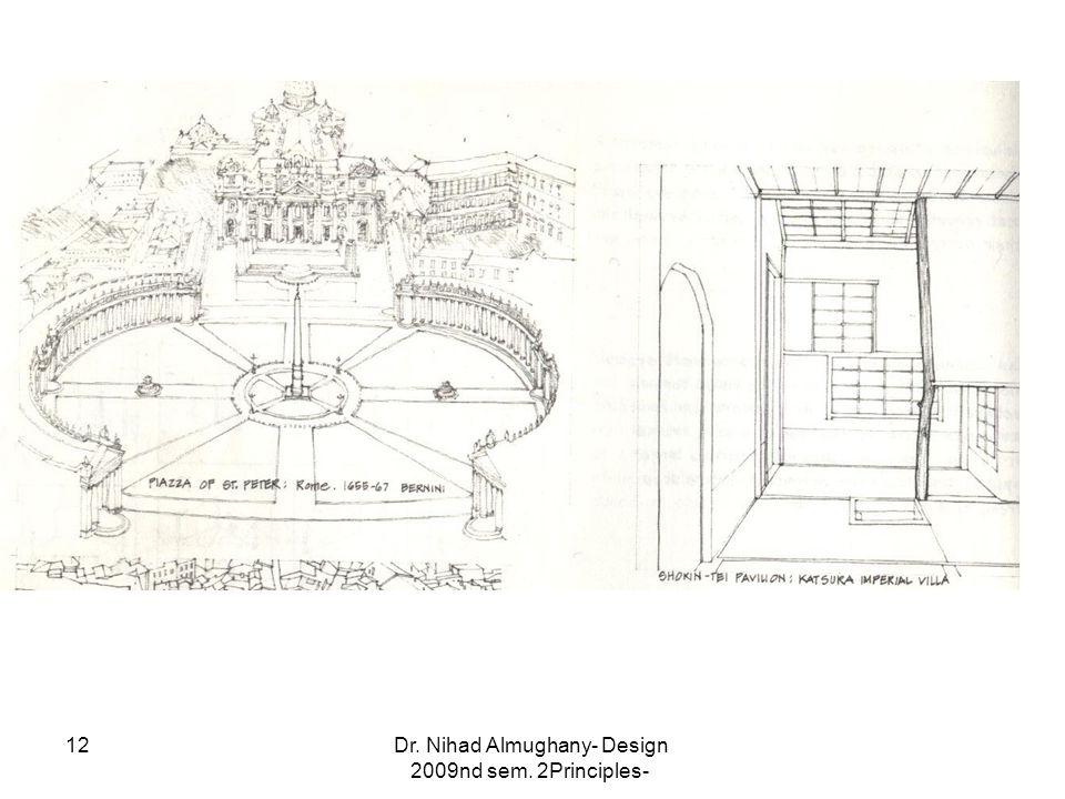 Dr. Nihad Almughany- Design Principles- 2nd sem. 2009 12