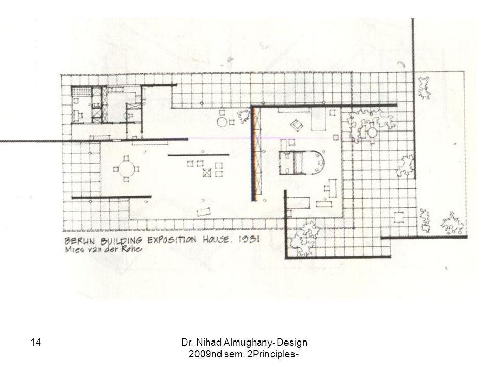 Dr. Nihad Almughany- Design Principles- 2nd sem. 2009 14