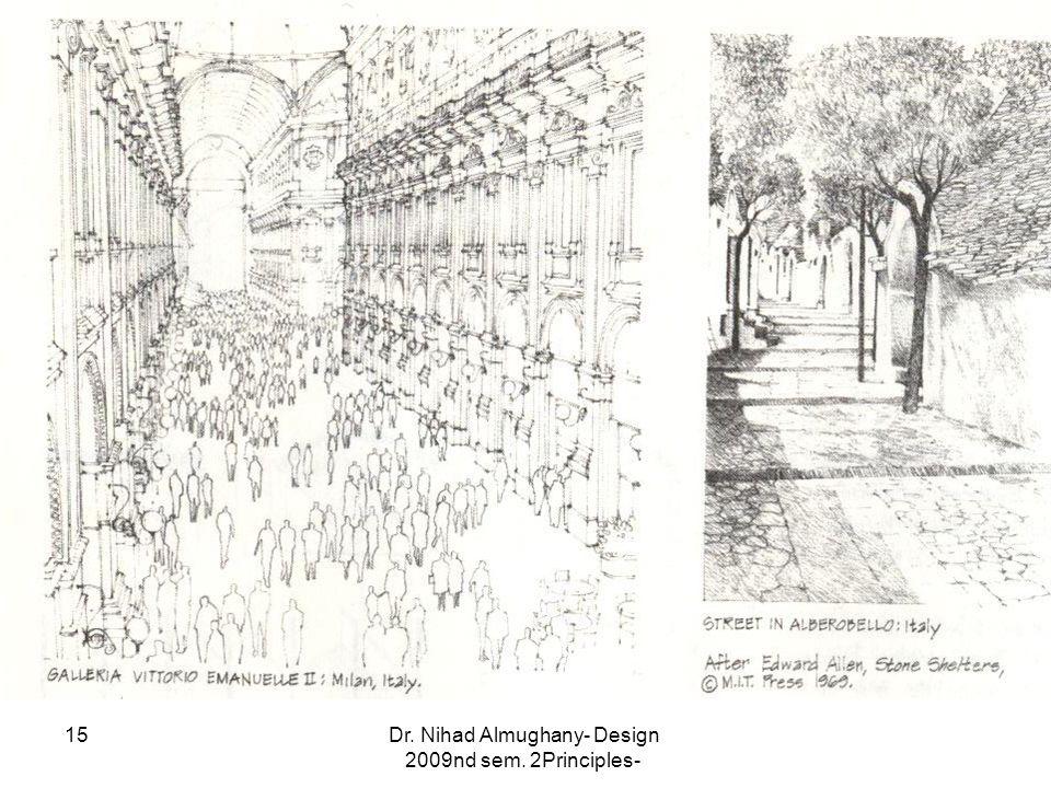 Dr. Nihad Almughany- Design Principles- 2nd sem. 2009 15