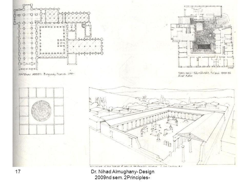 Dr. Nihad Almughany- Design Principles- 2nd sem. 2009 17