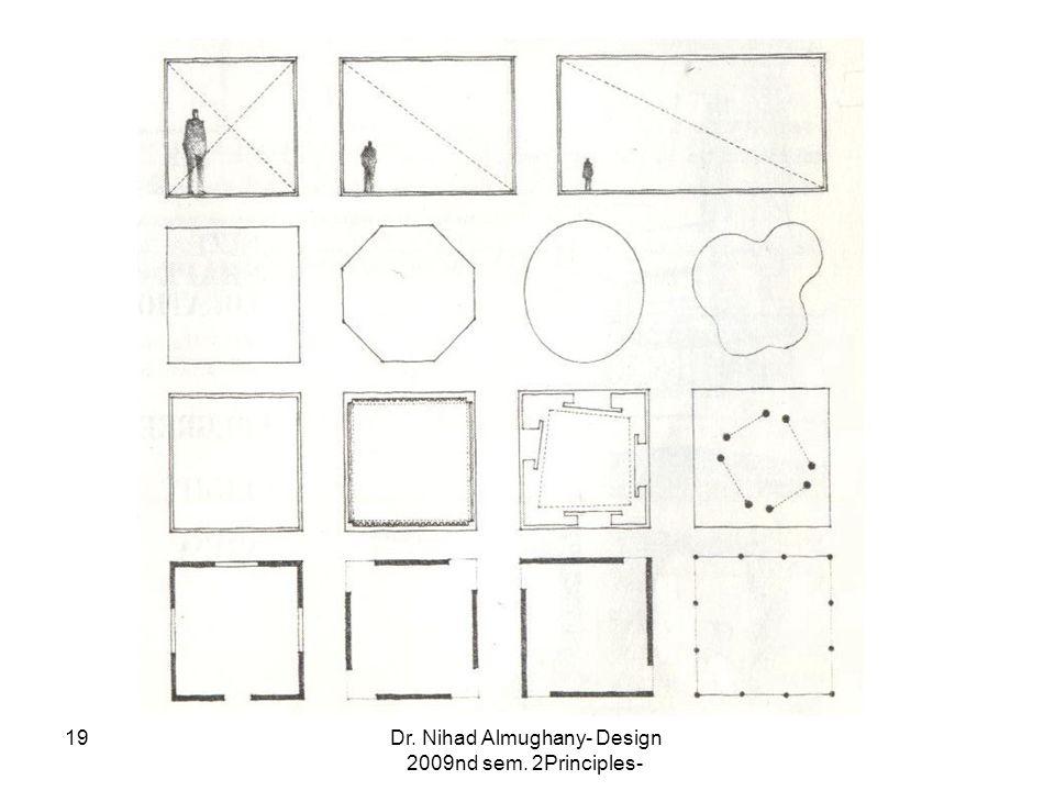 Dr. Nihad Almughany- Design Principles- 2nd sem. 2009 19