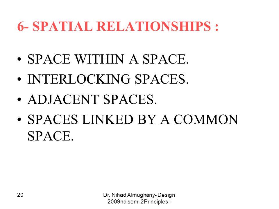 Dr. Nihad Almughany- Design Principles- 2nd sem.
