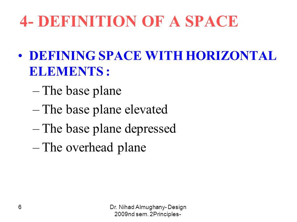 Dr.Nihad Almughany- Design Principles- 2nd sem.
