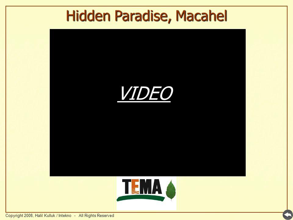 Hidden Paradise, Macahel Copyright 2008, Halil Kulluk / Intekno - All Rights Reserved VIDEO