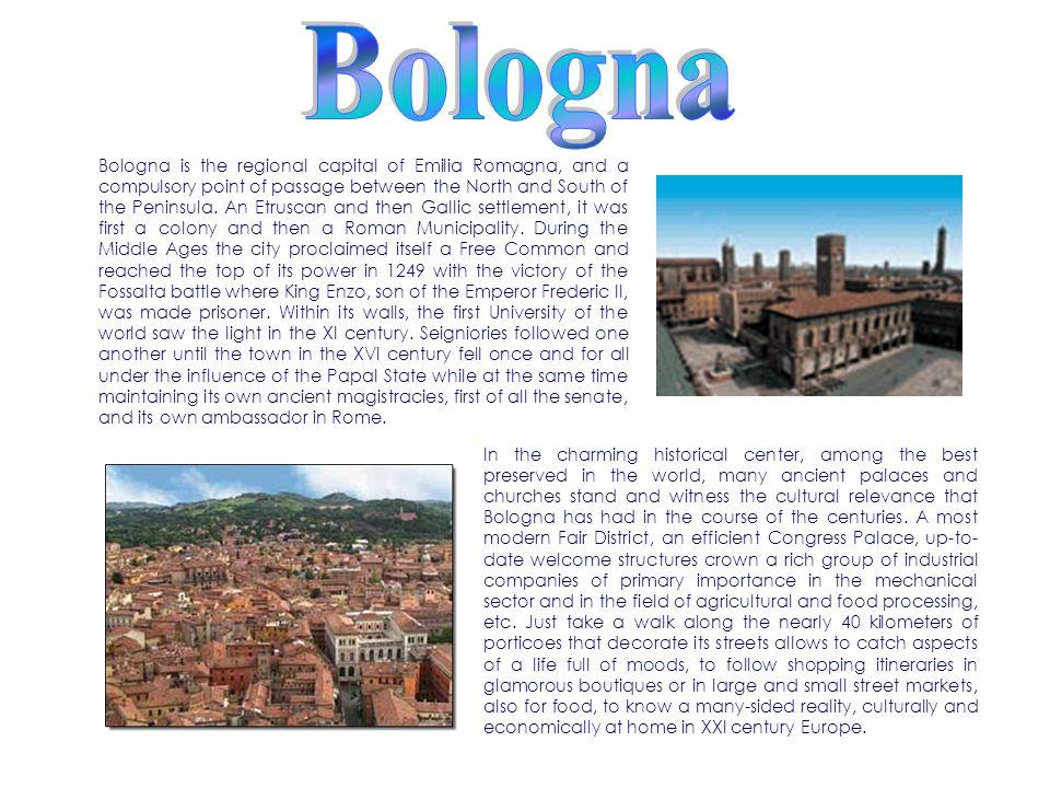 La classe 3DL presenta BOLOGNA: una città da scoprire