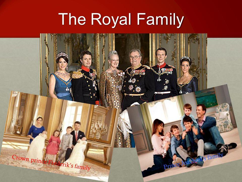The Royal Family Crown prince Frederik's family Prince Joachim's family