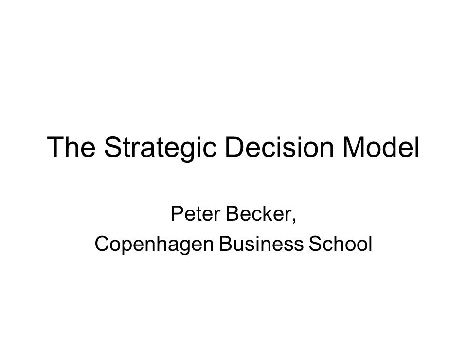 Explanation to model Intention: the model support management deciding strategic choices based at thoroughly view on all relevant micro, meso and macro parameters influencing the firm A) impact on company (-5+5) B) influence on industry (0-10) AxB = influence factor C) TCE standpoint comment: Fx.