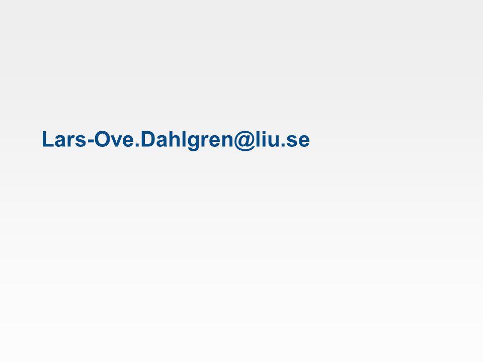Lars-Ove.Dahlgren@liu.se