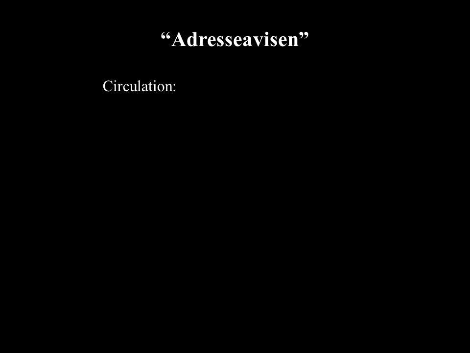 2002 09 2811 Adresseavisen Circulation:
