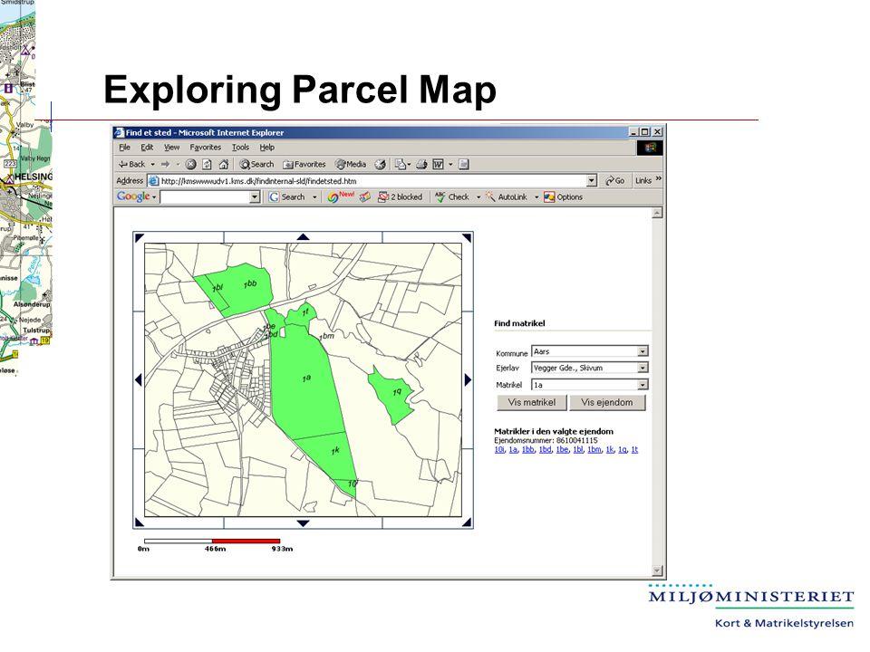 Exploring Parcel Map