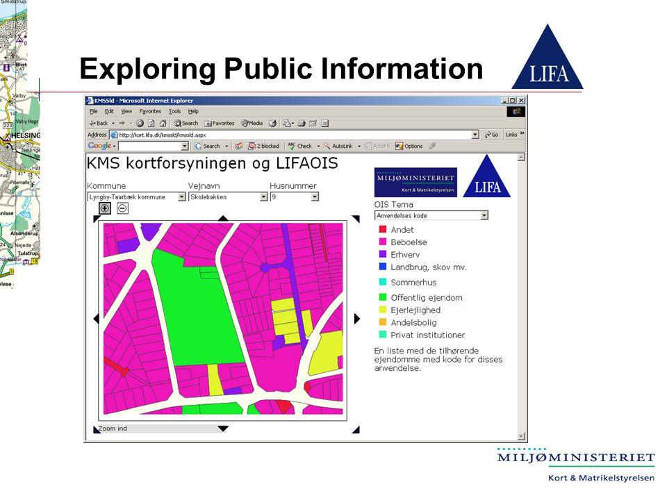 Exploring Public Information
