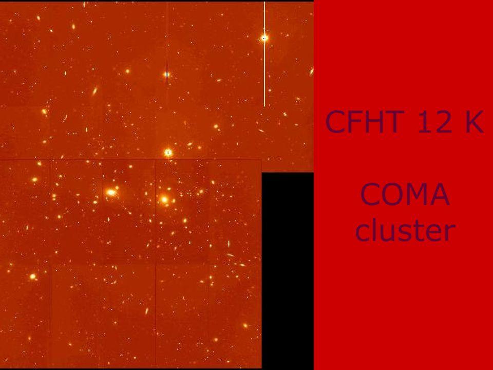 Leiden 29 Nov 2001Harry van der Laan Symposium CFHT 12 K COMA cluster