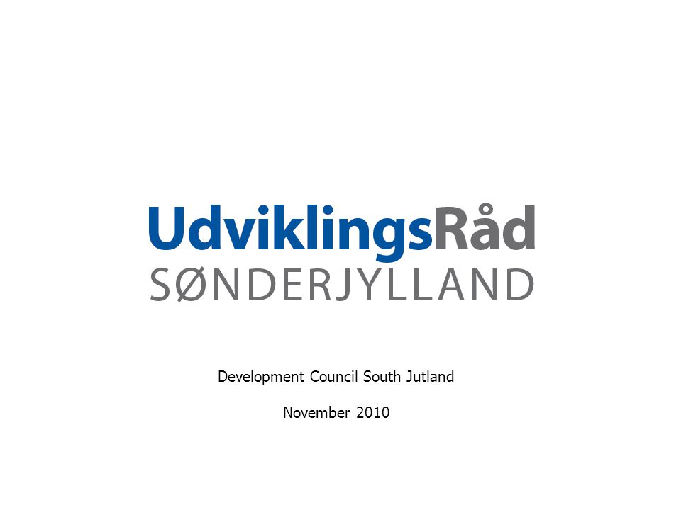 Development Council South Jutland November 2010