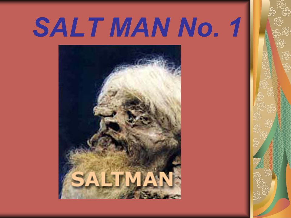 SALT MAN No. 1