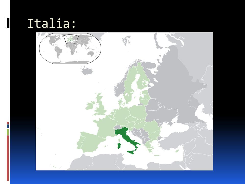 Kart over Italia: