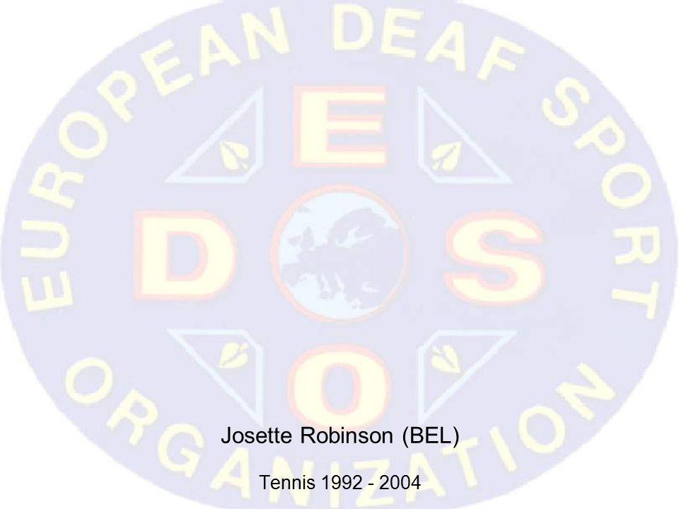 Josette Robinson (BEL) Tennis 1992 - 2004