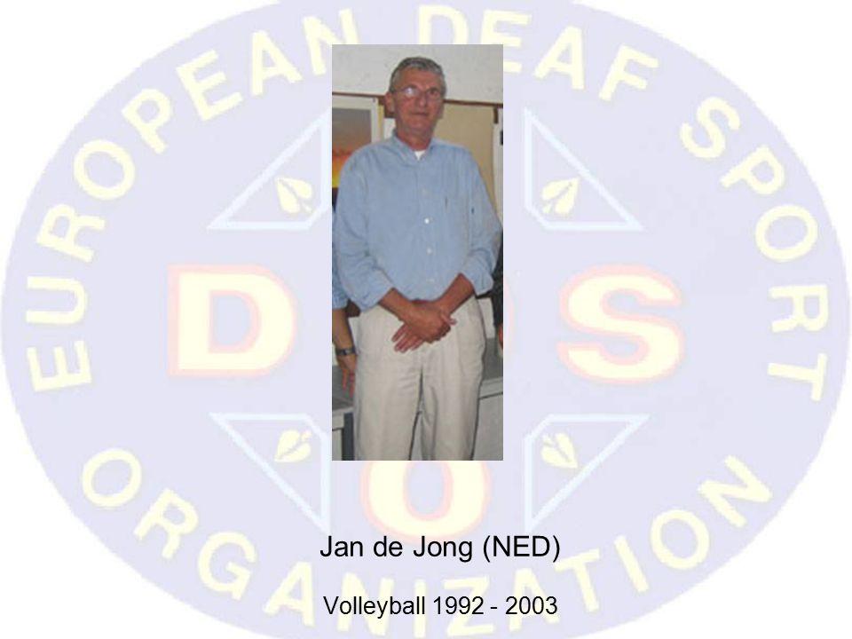 Jan de Jong (NED) Volleyball 1992 - 2003
