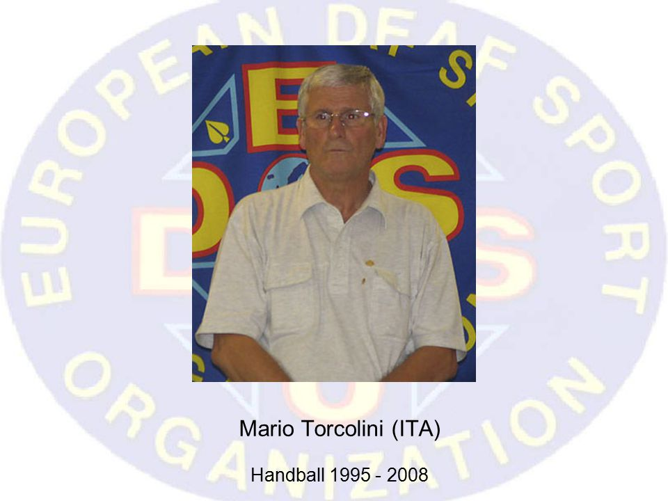 Mario Torcolini (ITA) Handball 1995 - 2008